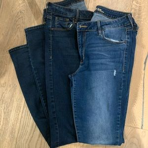 Set of 2 Old Navy Rockstar Jeans